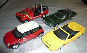 Diecast assorted toy cars