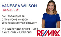Vanessa Wilson Real Estate, Make ME your Realtor !