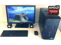 "May Deliver - Full Custom GAMING PC - QuadCore i5 3.1GHz - 6Gb - ATI Radeon HD - 22"" Monitor - WiFi"