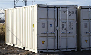 3 New 20' Shipping and Storage Containers (Seacans)
