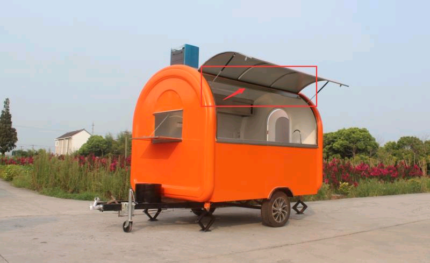 Food trailer / van brand new. Can ship Australia wide