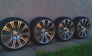 BMW LOW PROFILE TIRES AND RIMS