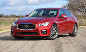 Lease take over Infinity Q50S Sport Red Line AWD 400