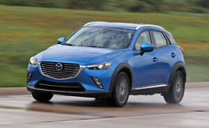 2017 Blue Mazda CX3 AWD