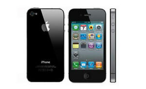 Mint Condition iPhone 4 (Black)-(Bell /Virgin)8GB=$89