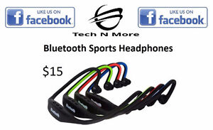 Bluetooth Sports Headphones (4 Colors)
