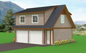 Linwood Custom Home Garage package