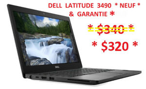 "Laptop  14""  DELL  Latitude 3490 Notebook * NEUF & GARANTIE *"