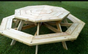 hand made picnic tables/out door tables