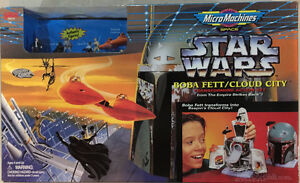 STAR WARS MICRO MACHINES BOBA FETT/ CLOUD CITY PLAYSET