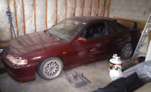 94 Acura Integra LS w/ JDM Front and New Paint, MANY EXTRAS