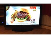 """40"""" samsung lcd tv usb movie playback freeview 4 x hdmi full hd could deliver."""