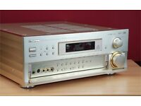 Pioneer VSA-E08 amplifier receiver high end gold powerful with original touch screen remote.
