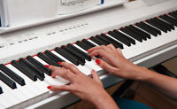 Offering piano lessons to all ages!