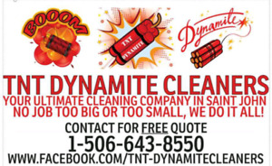 YOUR ULTIMATE CLEANING COMPANY IN SAINT JOHN