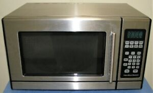 Hamilton Beach Stainless Steel Small Microwave Oven