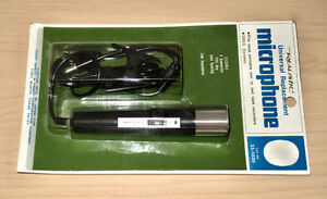 MICROPHONE FILAIRE REALISTIC NEUF