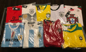 FIFA World Cup 2018 Shirts/Kits with your favorite player's name