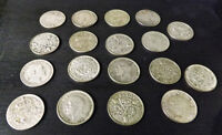 *Reduced* Collection of English Three Pence       (18 in total)
