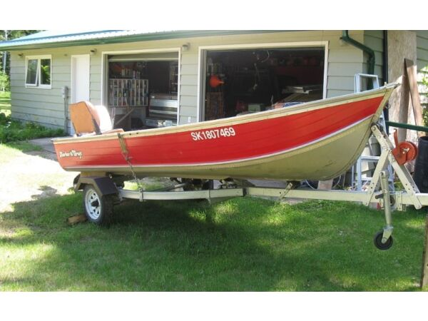 Used 1985 Harbercraft 14 foot aluminum