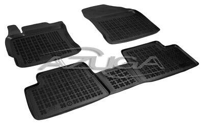Gummi-Fußmatten Toyota Auris II//Auris Hybrid  3tlg 2012-heute Gummimatten