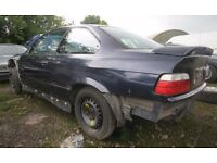 BMW E36 Coupe Rolling Shell 318is & Logbook NO RUST Drift Race Rally Reshell Project 328i Sport M3