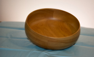 BOWL - hand-crafted from VERMONT Birch