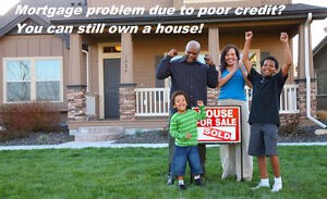 Mortgage problem due to poor credit? You can still own a house!
