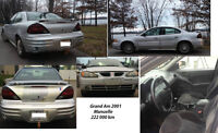 Pontiac Grand Am en super condition, roule A1