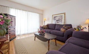 LOVELY ONE BEDROOM FULLY FURNISHED SUITE NEAR THE WATERFRONT