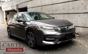 2017 Honda Accord Touring + CERTIFIED + 7 YEARS 160, 000 KMS