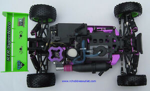 New RC Buggy / Car HSP WARHEAD Nitro 2-speed 4WD 2.4G City of Toronto Toronto (GTA) image 9