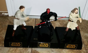 Star Wars Action Piggy Banks Figures, Moving Battery Operated