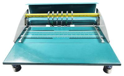 18in 460mm Electric Creaserscorerperforator Machine W Workbench 110v Premium