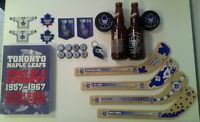 Toronto Maple Leaf NHL collector items
