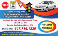 G1-Exit-G2 Driving LESSONs