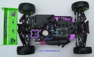 New RC Buggy / Car Nitro Gas Engine 4WD 2.4G !/10 Scale Warhead Belleville Belleville Area image 5