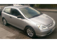 Honda Civic 1.4 (2003) - Petrol - Silver - Good Condition!