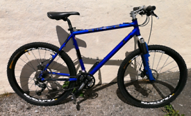 MERLIN MALT 2 HARDTAIL MOUNTAIN BIKE RARE!!HAND BUILT,HIGH SPEC 19""