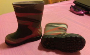 Size 8 & 9 Toddler Rain Boots