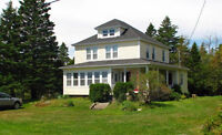 2 Story Captain's House on N.S.'s Beautiful South Shore