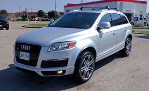 2009 Audi Q7 S-Line Quattro CarProof & Warranty Included!