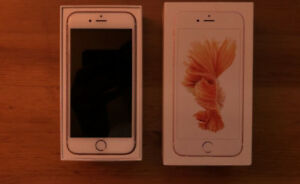Rose Gold iPhone 6s 64GB Unlocked recently upgraded
