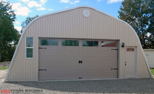 New Big Shed / Garage-Thick Galv Steel - DEAL!-- 22K OBO