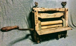 Antique Eatonia Clothing Wringer