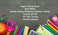 Tutoring - August Special - North Whitby