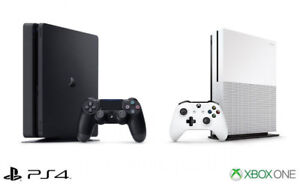 LOOKING to BUY a PS4 or XBOX ONE