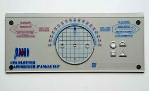 CPS PLOTTER Course Plotter Nautical Navigation Protractor Boatin