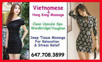 Deep Tissue Vietnamese Massage in Woodbridge