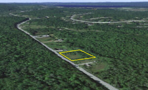 1 acre vacant lot on Hwy 2 between Oakfield and Enfield